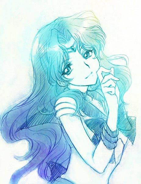 Tags: Anime, Pixiv Id 10336702, Bishoujo Senshi Sailor Moon, Kaiou Michiru, Sailor Neptune, Fanart, Fanart From Pixiv, Pixiv