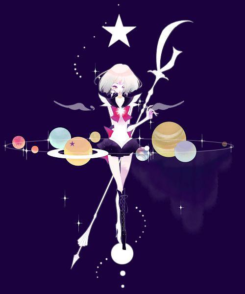 Tags: Anime, Pixiv Id 169077, Bishoujo Senshi Sailor Moon, Tomoe Hotaru, Sailor Saturn, Glaive, Planet Neptune, Planet Mercury, Planet Mars, Planet Venus, Saturn, Planet Jupiter, Planet Pluto