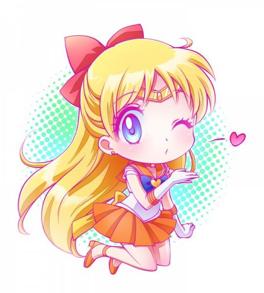 Tags: Anime, Asahi Haru, Bishoujo Senshi Sailor Moon, Sailor Venus, Aino Minako, Pixiv, Requested Upload