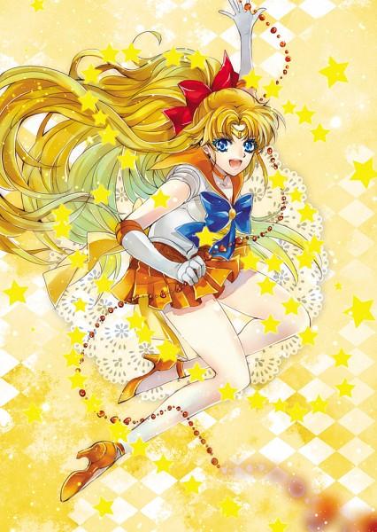 Tags: Anime, Yuan (Pixiv1626796), Bishoujo Senshi Sailor Moon, Aino Minako, Sailor Venus, Orange Skirt, Yellow, Venus Love Me Chain, Orange Footwear, Mobile Wallpaper, Fanart From Pixiv, Fanart, Pixiv