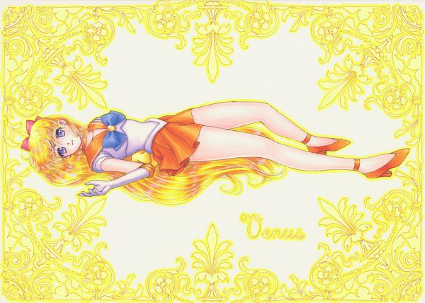 Tags: Anime, Mizuha (aqua No Hane), Bishoujo Senshi Sailor Moon, Sailor Venus, Aino Minako, Pixiv, Fanart From Pixiv, Fanart