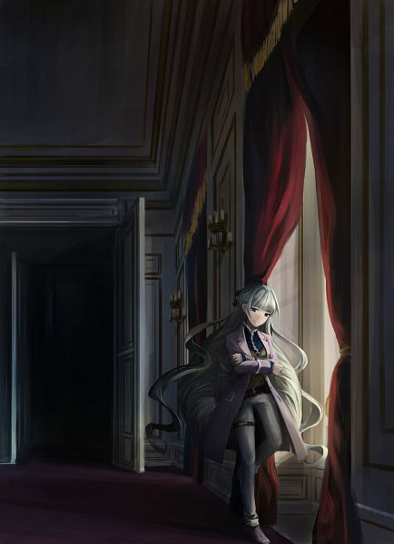 Tags: Anime, Pixiv Id 40276, Senki Zesshou Symphogear, Saint-Germain (Senki Zesshou Symphogear), PNG Conversion