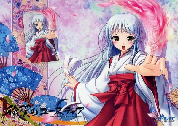 Tags: Anime, Bekkankou, Aiyoku no Eustia, Saint Irene, Official Art, Comic Market 80, Comic Market