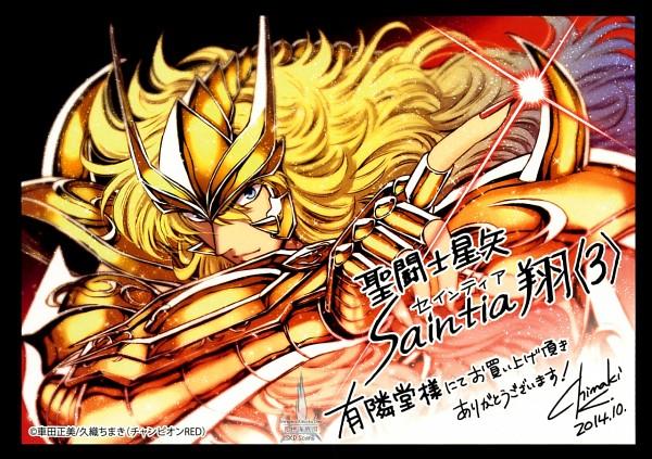 Tags: Anime, Kuori Chimaki, Saint Seiya: Saintia Shou, Scorpio Milo, Gold Saints
