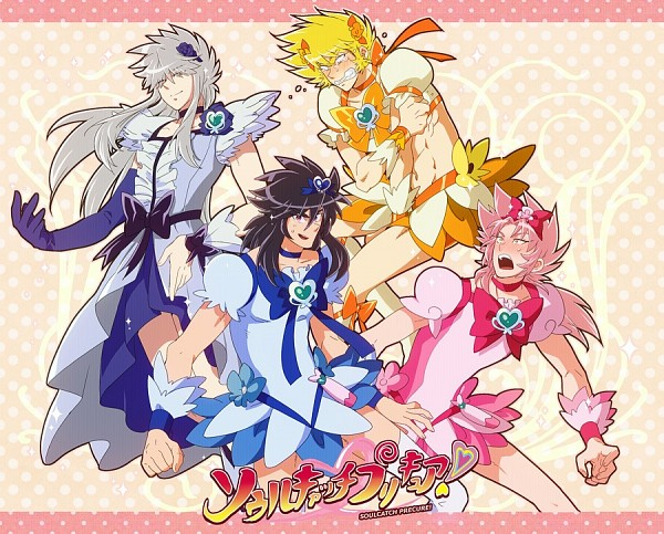 Tags: Anime, Great B, Saint Seiya, Hades (Saint Seiya), Garuda Aiacos, Wyvern Rhadamanthys, Harpy Valentine, Griffon Minos, Cure Moonlight (Cosplay), Cure Sunshine (Cosplay), Cure Blossom (Cosplay), Company Connection, Cure Marine (Cosplay)
