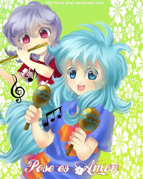 Tags: Anime, Luna-akari, Saint Seiya, Saint Seiya Omega, Siren Sorrento, Poseidon (Saint Seiya), Tropical, deviantART, Self Made