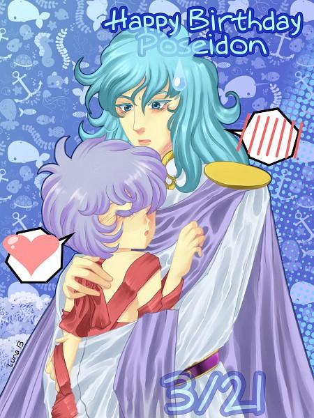 Tags: Anime, Luna-akari, Saint Seiya, Saint Seiya Lost Canvas, Siren Sorrento, Poseidon (Saint Seiya), deviantART, Self Made