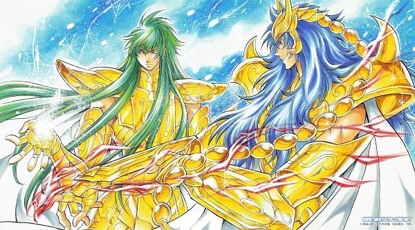 Tags: Anime, Saint Seiya Lost Canvas, Saint Seiya, Scorpio Kardia, Aquarius Degel, Facebook Cover, Wallpaper, Gold Saints -the Lost Canvas