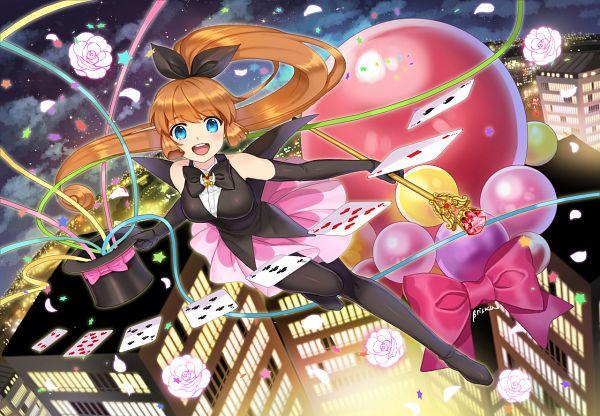 Tags: Anime, briska, Kaitou Saint Tail, Haneoka Meimi, Saint Tail (Character), Magician (Entertainer), Fanart From Pixiv, Fanart, Pixiv