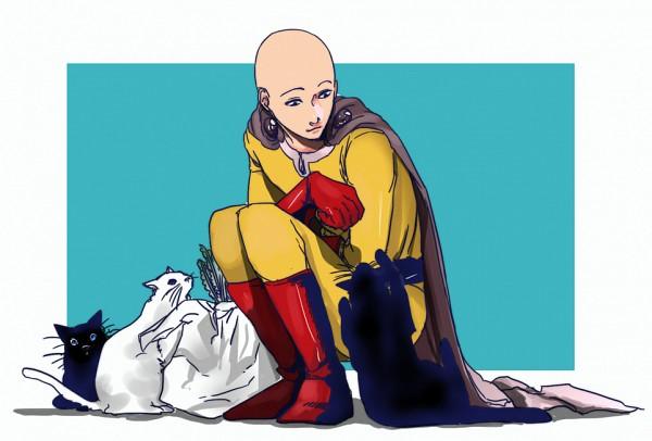 Tags: Anime, Tenobe, One Punch Man, Saitama (One Punch Man), Fanart From Pixiv, Pixiv, Fanart