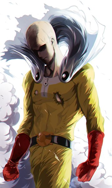 Tags: Anime, Pixiv Id 5376664, One Punch Man, Saitama (One Punch Man), PNG Conversion, Mobile Wallpaper