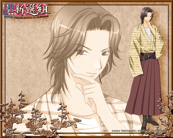 Tags: Anime, Bakumatsu Koi Hana, Saitani Umetarou, Official Wallpaper, Wallpaper, Official Art