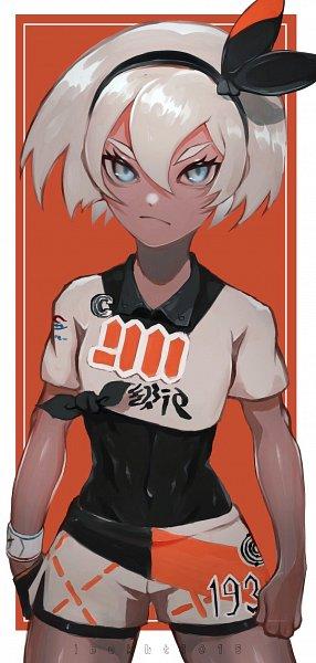 Tags: Anime, Pixiv Id 11609074, Pokémon Sword & Shield, Pokémon, Saitou (Pokémon), Pixiv, Bea (pokémon)