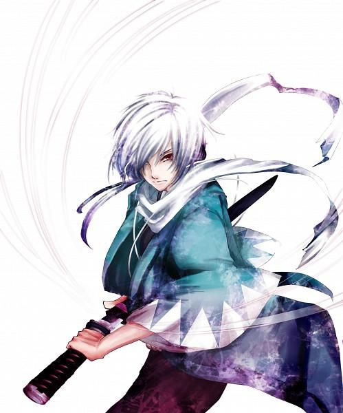 Tags: Anime, IDEA FACTORY, Hakuouki Shinsengumi Kitan, Saitou Hajime (Hakuouki), Pixiv