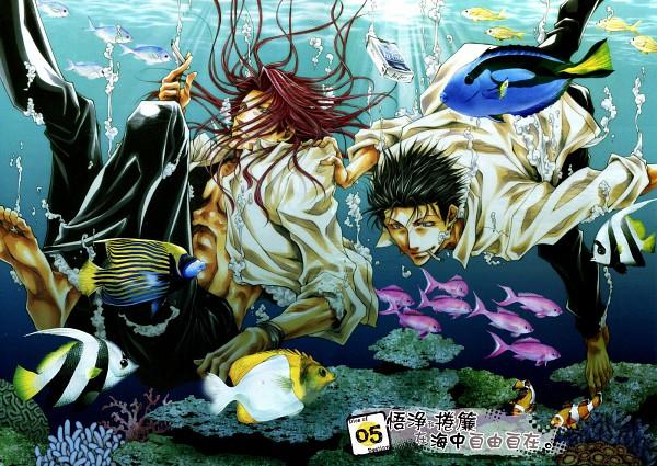 Tags: Anime, Minekura Kazuya, Saiyuki, Saiyuki Gaiden, Kenren Taishou, Sha Gojyo