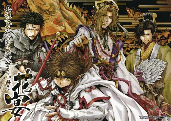 Tags: Anime, Kazuya Minekura, Saiyuki Gaiden, Saiyuki, Tenpou Gensui, Kenren Taishou, Konzen Douji, Son Goku (Saiyuki), Seiten Taisei