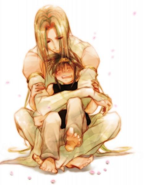 Tags: Anime, Amber (Artist), Saiyuki Gaiden, Saiyuki, Son Goku (Saiyuki), Konzen Douji, Pixiv, Fanart
