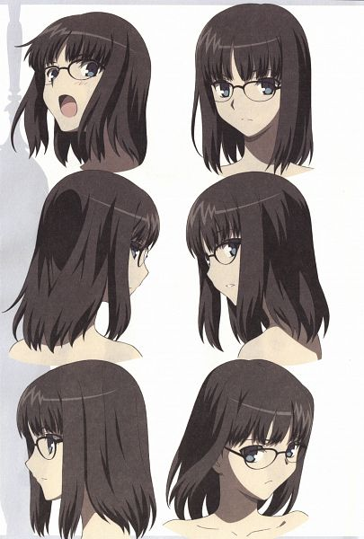 Tags: Anime, Lerche, Fate/Prototype, Fate/Prototype Animation Material, Sajyou Ayaka, Official Art, Character Sheet, Scan