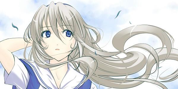 Tags: Anime, CLANNAD, Sakagami Tomoyo, Fanart, Artist Request