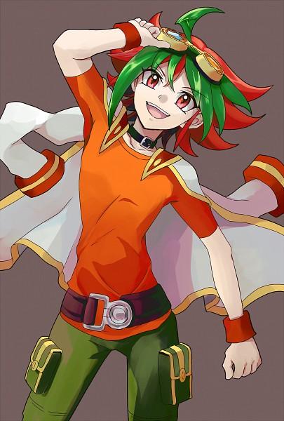 Tags: Anime, Pixiv Id 4937531, Yu-Gi-Oh!, Yu-Gi-Oh! ARC-V, Sakaki Yuya, Fanart, Fanart From Pixiv, Mobile Wallpaper, Pixiv