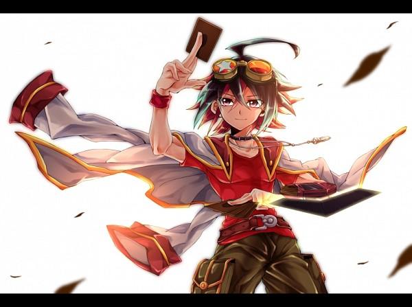Tags: Anime, Sukaaha, Yu-Gi-Oh!, Yu-Gi-Oh! ARC-V, Sakaki Yuya, Fanart From Pixiv, Pixiv, Fanart