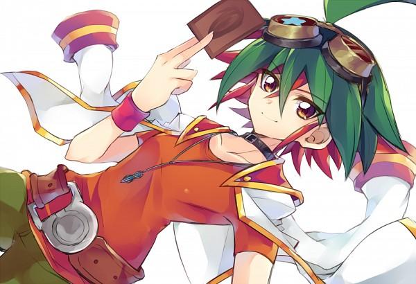Tags: Anime, Neriusagi, Yu-Gi-Oh!, Yu-Gi-Oh! ARC-V, Sakaki Yuya, Pixiv