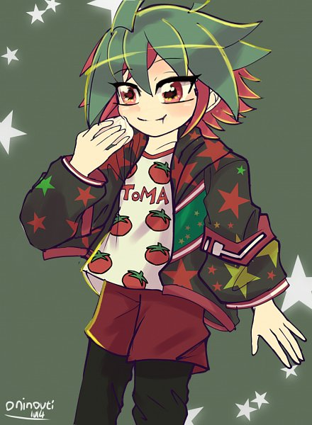 Tags: Anime, Pixiv Id 3907542, Yu-Gi-Oh!, Yu-Gi-Oh! ARC-V, Sakaki Yuya, Pixiv, Fanart, Fanart From Pixiv