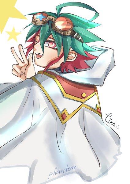 Tags: Anime, Pixiv Id 5301230, Yu-Gi-Oh!, Yu-Gi-Oh! ARC-V, Sakaki Yuya, Pixiv, Fanart, Fanart From Pixiv