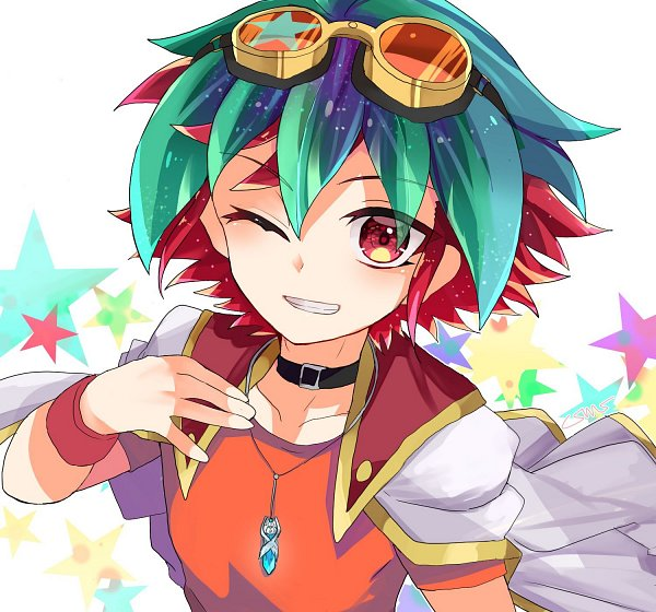 Tags: Anime, Cosmos-mrst, Yu-Gi-Oh! ARC-V, Yu-Gi-Oh!, Sakaki Yuya, Twitter, Fanart