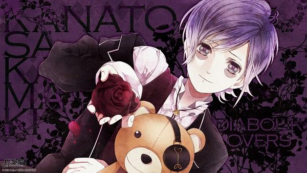 Tags: Anime, IDEA FACTORY, Diabolik Lovers ~Haunted dark bridal~, Sakamaki Kanato, Bags Under Eyes, Wallpaper, HD Wallpaper, Official Art, Facebook Cover, Official Wallpaper