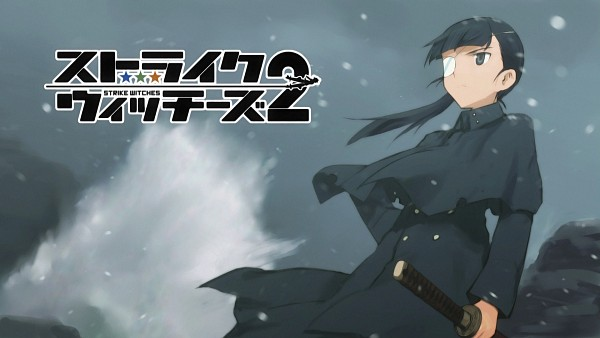 Tags: Anime, Shimada Humikane, Strike Witches, Sakamoto Mio, Wallpaper, HD Wallpaper, Eyecatcher