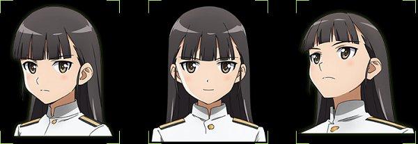 Tags: Anime, Takamura Kazuhiro, david production, Strike Witches: Road to Berlin, Strike Witches, Sakamoto Mio, Official Art