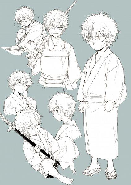 Tags: Anime, Tetsu420, Gintama, Sakata Gintoki, Picking Nose, Shinai, Pixiv, Fanart From Pixiv, Fanart, Gintoki Sakata