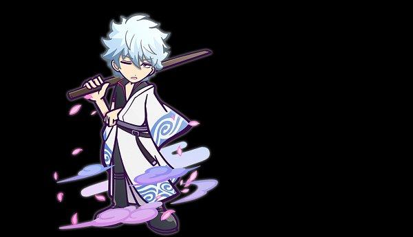 Tags: Anime, Sega, Gintama, Puyopuyo!! Quest, Puyo Puyo, Sakata Gintoki, Shinai, Official Art, Gintoki Sakata