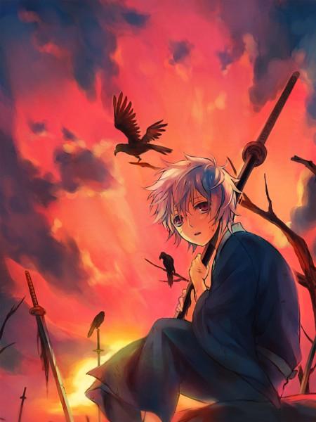 Tags: Anime, Mg (Pixiv4935063), Gintama, Sakata Gintoki, Pixiv, Gintoki Sakata