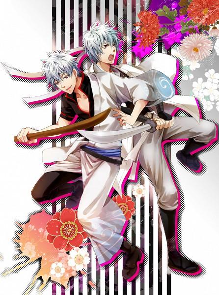 Tags: Anime, Izk, Gintama, Sakata Gintoki, Shiroyasha, Pixiv, Fanart, Gintoki Sakata