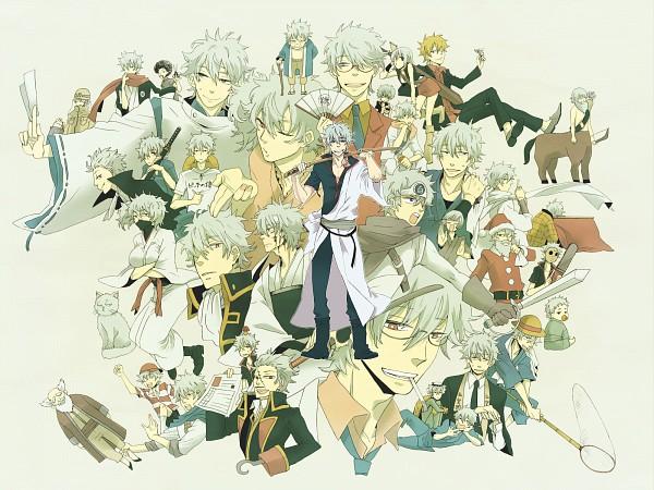 Tags: Anime, Pixiv Id 156319, Gintama, Paako, Sakata Gintoki, Leukocyte King, Shiroyasha, Sakata Gintoki Lawyer, Sakata Kintoki, Ginko (Gin Tama), Ginpachi-sensei, Gin (Gin Tama), Net, Gintoki Sakata
