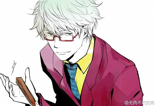 Tags: Anime, Feiqiuxuan, Gintama, Sakata Gintoki Lawyer, Sakata Gintoki, Fanart