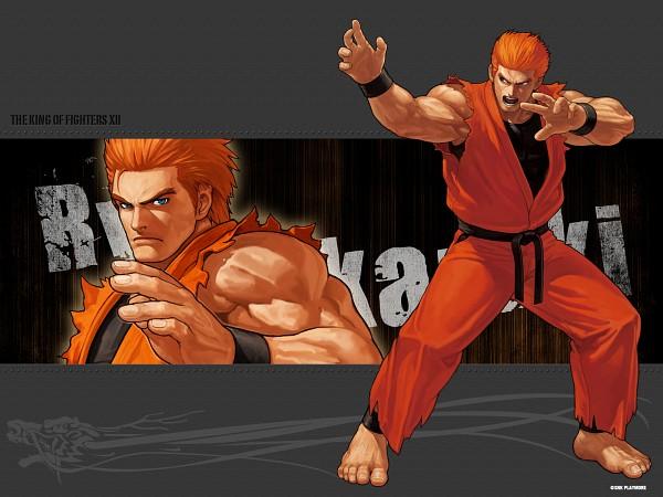 Tags: Anime, SNK Playmore, Art of Fighting, The King of Fighters, Sakazaki Ryo, Gi, Wallpaper