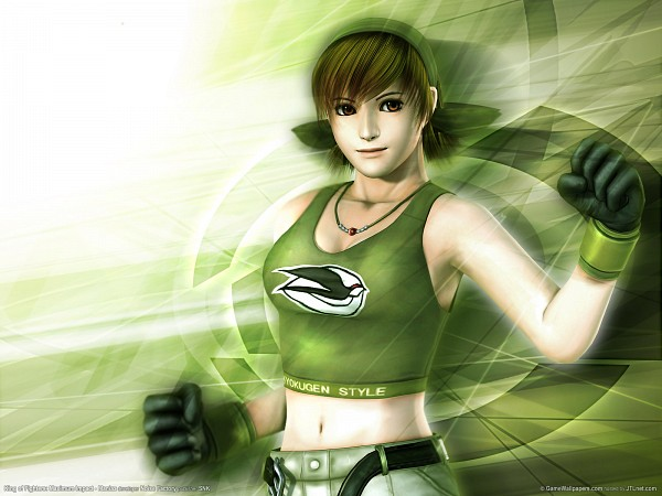 Tags: Anime, SNK, The King of Fighters, Art of Fighting, Sakazaki Yuri, Wallpaper