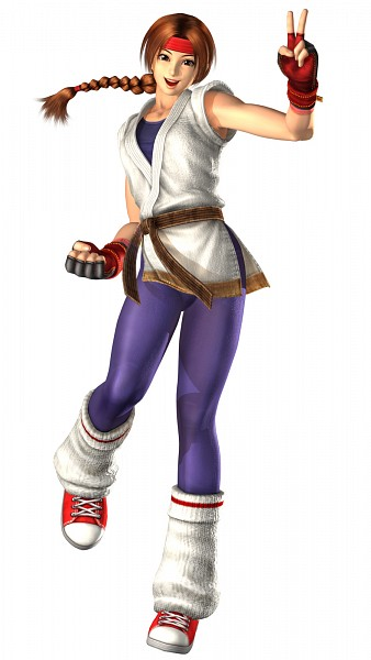 Tags: Anime, SNK Playmore, The King of Fighters, Art of Fighting, Sakazaki Yuri, Official Art, 3D