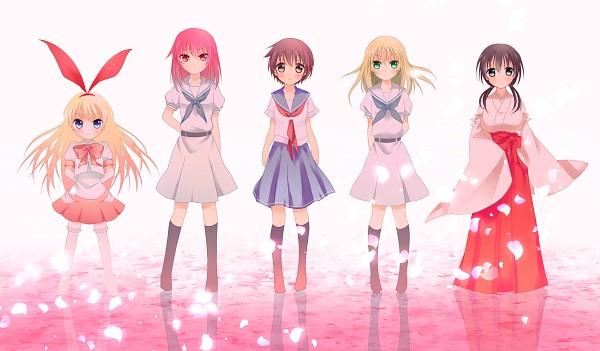 Tags: Anime, Pixiv Id 5301823, Saki - The Player, Miyanaga Teru, Jindai Komaki, Amae Koromo, Oohoshi Awai, Miyanaga Saki