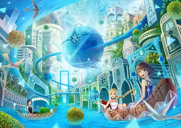 Tags: Anime, Sakimori, Original, Pixiv