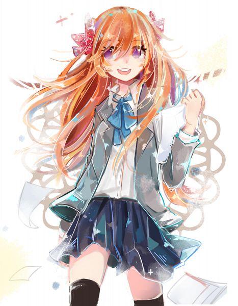 Tags: Anime, Pixiv Id 6296205, Gekkan Shoujo Nozaki-kun, Sakura Chiyo, PNG Conversion