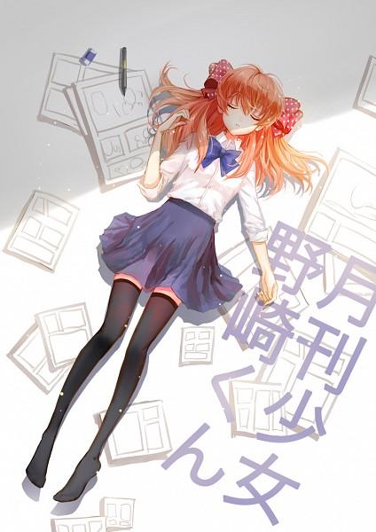Tags: Anime, Pixiv Id 4345700, Gekkan Shoujo Nozaki-kun, Sakura Chiyo, Spotted Bow, Eraser, Fanart, Mobile Wallpaper, Fanart From Pixiv, Pixiv