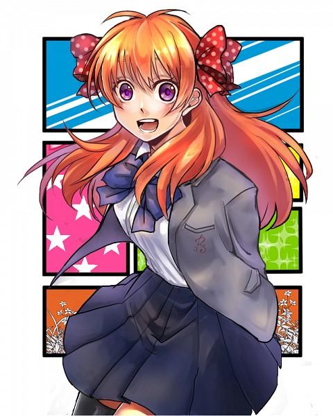 Tags: Anime, Pixiv Id 3964033, Gekkan Shoujo Nozaki-kun, Sakura Chiyo, Fanart, Fanart From Pixiv, PNG Conversion, Pixiv