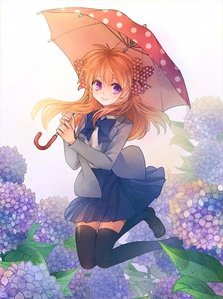 Tags: Anime, Q Chiang, Gekkan Shoujo Nozaki-kun, Sakura Chiyo, :>, Pixiv, Fanart, Fanart From Pixiv, Mobile Wallpaper