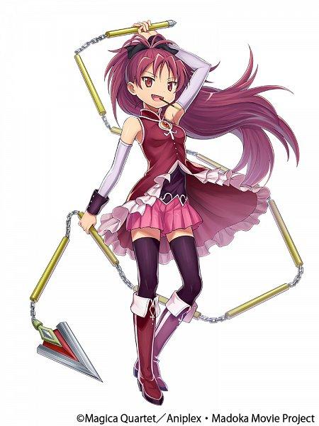 Tags: Anime, gumi Inc., Mahou Shoujo Madoka☆Magica, Crystal of Re:union, Sakura Kyouko, Official Art