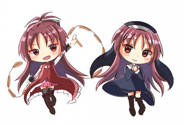 Tags: Anime, Pixiv Id 45302383, Mahou Shoujo Madoka☆Magica, Sakura Kyouko, Pixiv, Fanart, Fanart From Pixiv