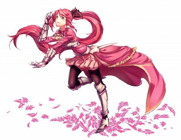 Tags: Anime, Pixiv Id 2820251, Mahou Shoujo Madoka☆Magica, Sakura Kyouko, Pixiv, Fanart, Fanart From Pixiv